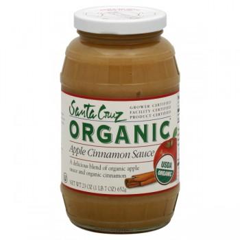 Santa Cruz Organic Apple Sauce Cinnamon