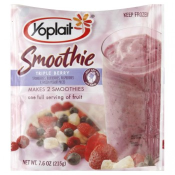 Yoplait Triple Berry Smoothie Mix Frozen