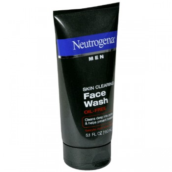 Neutrogena Men Face Wash Skin Clearing Oil-Free