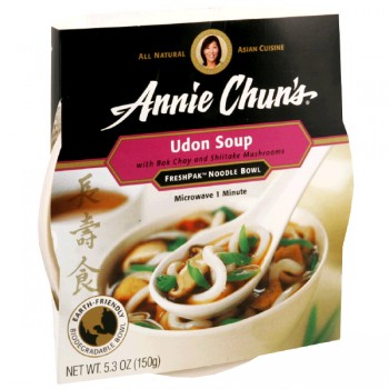 Annie Chun's FreshPak Noodle Soup Bowl Udon All Natural