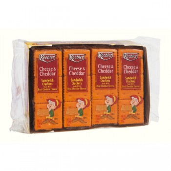 Keebler Sandwich Crackers Cheese & Cheddar Cheese - 8 ct
