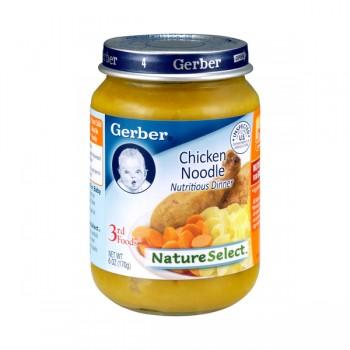 Gerber 3rd Foods Nature Select Chicken Noodle Dinner