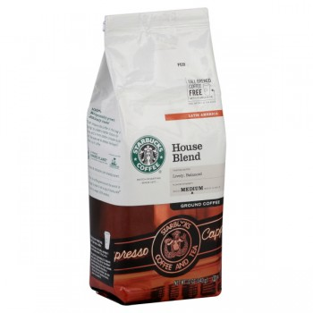 Starbucks House Blend Medium Coffee (Ground)