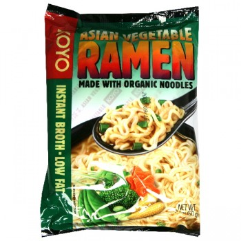 Koyo Ramen Noodles Asian Vegetable Low Fat Organic