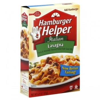 Betty Crocker Hamburger Helper Italian Lasagna