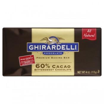 Ghirardelli Baking Chocolate Bittersweet Chocolate 60% Cacao