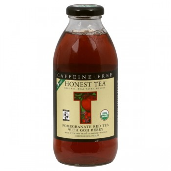 Honest Tea Red Pomegranate with Goji Berry Caffeine-Free Organic