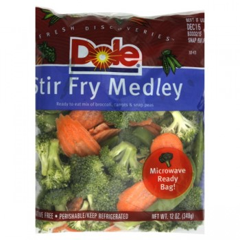 Vegetables Stir Fry Medley Broccoli, Carrots & Snap Peas Dole