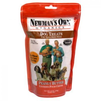 Newman's Own Organics Dog Treats Peanut Butter Formula For Small-Sized Dog