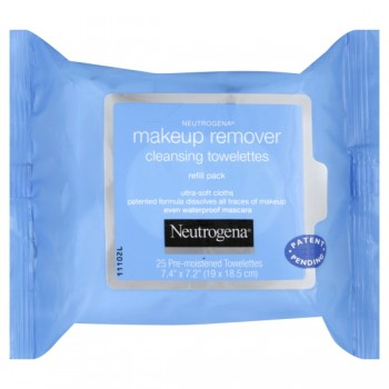 Neutrogena Makeup Remover Cleansing Towelettes Refil Pack
