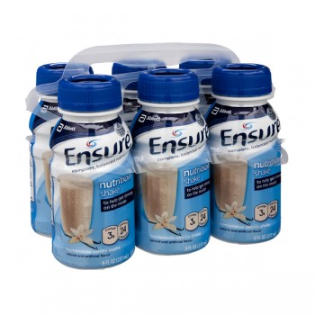 Ensure Nutrition Shake Homemade Vanilla - 6 pk