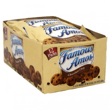 Famous Amos Cookies Chocolate Chip - 12 ct