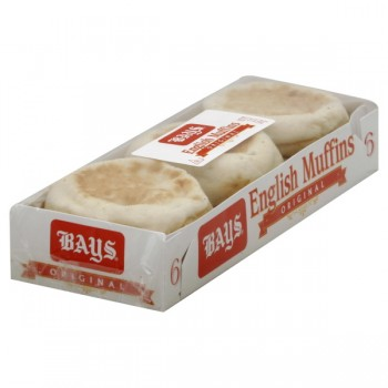 Bay's English Muffins - 6 ct Refrigerated