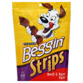 Purina Beggin' Strips Dog Treats Beef & Bacon