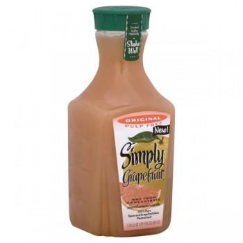 Simply Original 100% Pure Grapefruit Juice Pulp Free