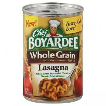 Chef Boyardee Whole Grain Pasta Lasagna