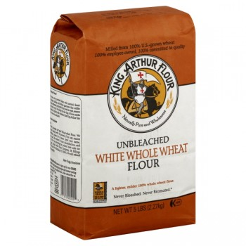 King Arthur Flour Unbleached White Whole Wheat All Natural