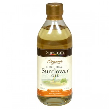 Spectrum Naturals Sunflower Oil High Heat Organic
