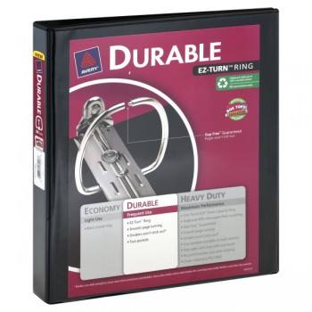 Avery 3-Ring Binder Durable View 1 Inch