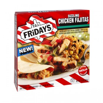 TGI Friday's Sizzling Chicken Fajitas with Tortillas