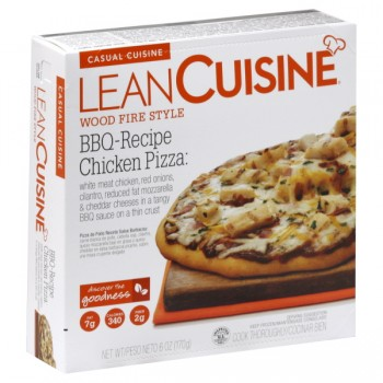 Lean Cuisine Casual Cuisine Pizza BBQ Chicken Wood Fire Style Frozen