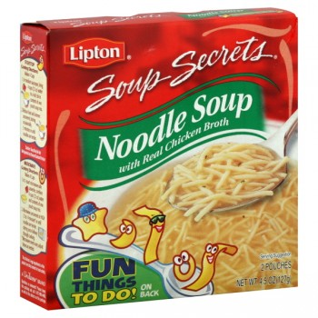Lipton Soup Secrets Mix Noodles with Chicken Broth - 2 ct