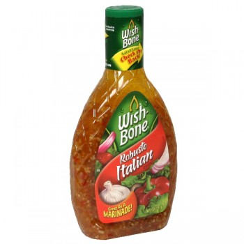 Wish-Bone Salad Dressing Robusto Italian