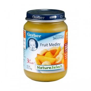 Gerber 3rd Foods Nature Select Spoonable Smoothie Fruit Medley
