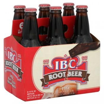 I.B.C. Root Beer - 6 pk