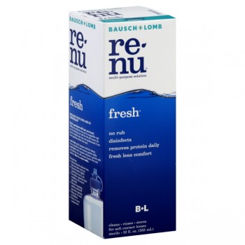 Bausch + Lomb ReNu No Rub Multi-Purpose Solution Fresh