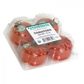 Tomatoes Certified Organic - 4 ct