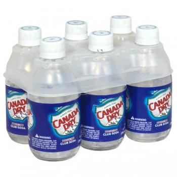 Canada Dry Club Soda - 6 pk