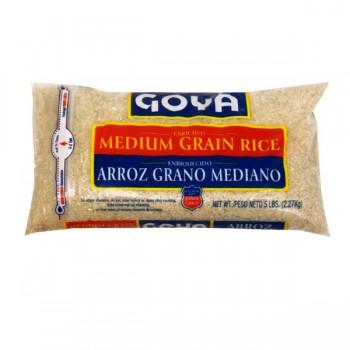 Goya Rice Enriched Medium Grain