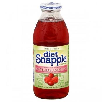 Snapple Cranberry Raspberry Juice Drink Diet