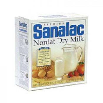 Sanalac Premium Dry Milk Non Fat - Makes 10 Quarts
