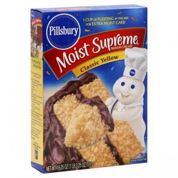 Pillsbury Moist Supreme Cake Mix Yellow