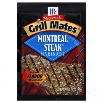 McCormick Grill Mates Marinade Montreal Steak