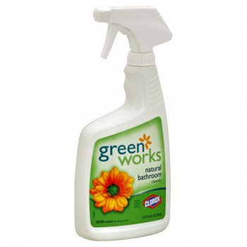Clorox Green Works Bathroom Cleaner Natural Trigger Spray
