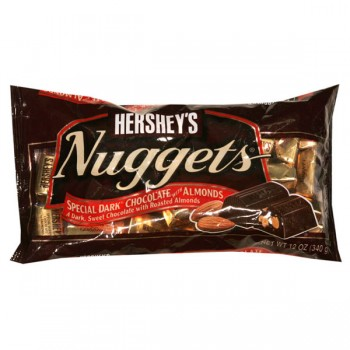 Hershey's Nuggets Dark Chocolate with Almonds