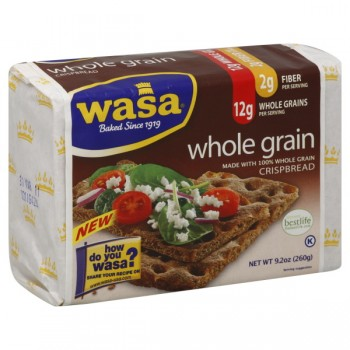 Wasa Crispbread Crackers Whole Grain