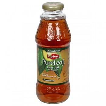 Lipton PureLeaf Iced Tea Unsweetened All Natural Single