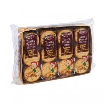 Keebler Sandwich Crackers Toast & Peanut Butter - 8 ct
