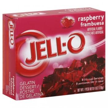 Jell-O Gelatin Dessert Raspberry