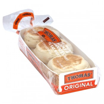 Thomas' English Muffins Original - 6 ct