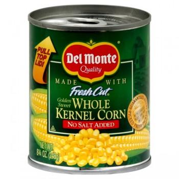 Del Monte Fresh Cut Corn Whole Kernel Sweet No Salt Added