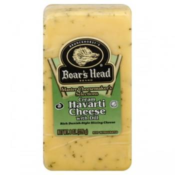 Boar's Head Master Cheesemaker's Cheese Cream Havarti w/Dill Chunk