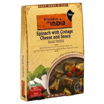 Kitchens of India Entree Palak Paneer Spinach with Cottage Cheese