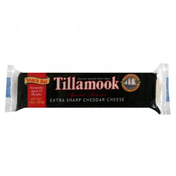 Tillamook Cheese Cheddar Extra Sharp Snack Bar