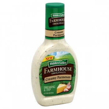 Hidden Valley Farmhouse Originals Salad Dressing Creamy Parmesan