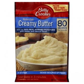 Betty Crocker Potatoes Mashed Homestyle Creamy Butter